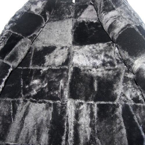 Кожаная жилетка на меху мужская