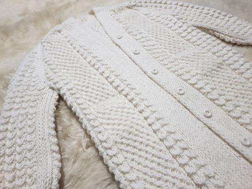 Накидка шерстяная удлиненная с рукавами