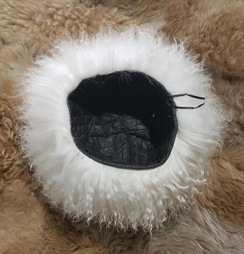 Папаха кавказская белая