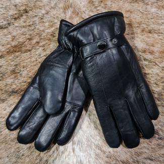 """Кожаные меховые перчатки мужские из овчины """"зимние"""""""